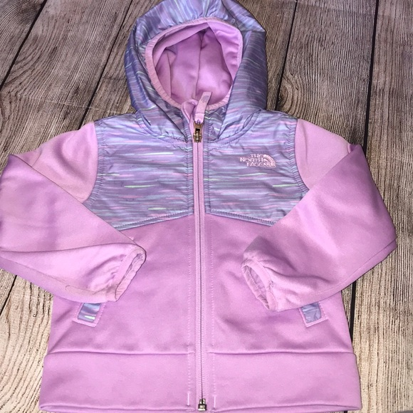 North Face 2T Girls purple spring jacket 18060d509